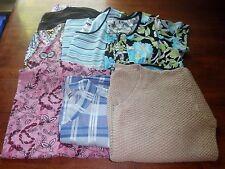 Women's Size 3x/24W Clothing Lot 6 Tops ~Dress Barn~Dana Kay~Liz & Me~ EUC