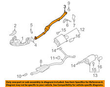 SUBARU OEM 2008 Outback 2.5L-H4-Catalytic Converter 44620AB25A