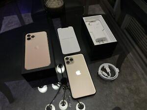 Apple iPhone 11 Pro - 256GB - Gold (AT&T) A2160 (CDMA + GSM) UNLOCKED.