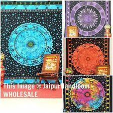 Indian Mandala Wall Decor Tapestry Twin Mandala Bedding : Wholesale lot of 50 pc