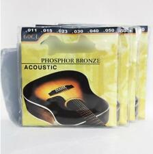 3 Sets Fender Acoustic Guitar Strings