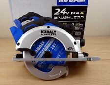 """Brand New Kobalt 24V Cordless 6.5"""" inch circular saw. (battery not included)"""