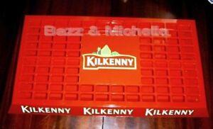 KILKENNY DRAUGHT BEER TAP DRIP TRAY PUB CLUB HOME BAR ~ NEW GENUINE MERCHANDISE