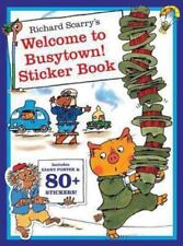Richard Scarry's Welcome to Busytown! Sticker and Poster Book (Paperback or Soft