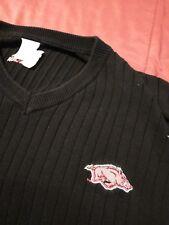 Men's 2XL Adidas Arkansas Razorbacks Sweater Vest Excellent Condition Sewn Hog