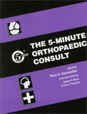 The 5-Minute Consult: The 5-Minute Orthopaedic Consult (2000, Hardcover)