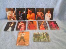 MICK JAGGER- ROLLING STONES Calendar Cards Set; Mint Set of 12 Cards ROCK N ROLL