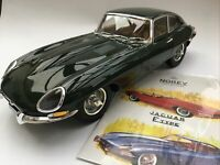 NOREV 122710 JAGUAR E TYPE COUPE diecast model road car green body 1962 1:12th