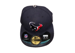 NWT New Houston Texans New Era 59Fifty OnField Size 6 7/8 Fitted Hat Cap