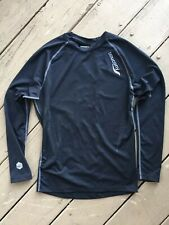 Saucony Mens Long Sleeve Performance Base Layer Running Shirt Breathable Small