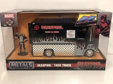 Deadpool Taco Truck with deadpool Figure 1:24 Scale New Jada 30540