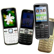 Hebrew Nokia C5-00I Mobile Phone Camera 5MP Camera GPS Unlocked Original