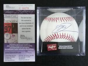 JSA COA Dirk Nowitzki Signed Auto Autograph Official MLB Baseball Mavericks RARE