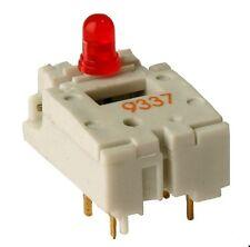 Entrée boutons poussoir Avec DEL 3 mm sans capuchon, DIGITAST, 1 xwechsler, 100 MA, Schadow, 1st.