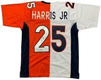 Chris Harris Jr. autographed signed jersey NFL Denver Broncos JSA COA