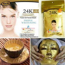 24K Gold Collagen Face Mask Powder Anti-Aging Anti-Wrinkle Spa Facial Pro Care