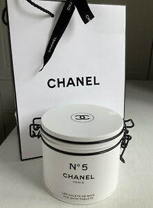 CHANEL NO5 FACTORY THE BATH TABLETS SUMMER 2021 LTD NEW BOXED