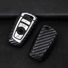 Carbon Fiber Car Remote Key Cover Case For BMW F05 F10 F20 F30 Z4 X1 X4 X5 X6 X7