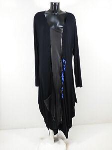 N by NÖR DENMARK Damen Kleid Gr 54 DE / Schwarz und Neu mit Etikett  ( R 7062 )