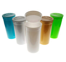 Box 13 Pop Top -13D, Multi Color Pack Medical Pill Herb Vial Pharmacy Container