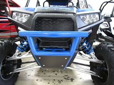 POLARIS RZR XP 1000 900 Turbo Front Bumper W/skid Plate 2&4 seat  BLUE 2016-18