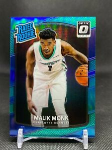 MALIK MONK 2017-18 Donruss Optic Rated Rookie Aqua #190 20/25 Charlotte Hornets