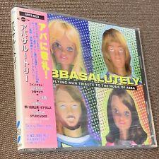 Sealed Abbasalutely JAPAN CD SRCS 8223 w/OBI ABBA New Zealand Flying Nun tribute
