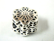 Genuine Sterling Silver PANDORA FLORAL DAISY LACE Charm 791836 S925 ALE