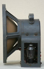 "Speaker klangfilm Field Coil Full Range VINTAGE 15"" Horn metal 18"" antique 1930s"