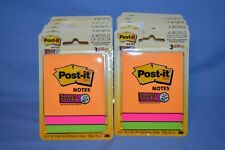 Lot Of 10 3m Company 3pk Riode Post It Notes 3321 Ssau Each Has 135