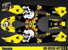 Kit Déco pour / Decal Kit for Jet Ski Yamaha Super Jet - Punk Skull