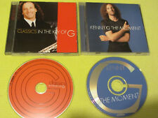 Kenny G The Moment & Classics In The Key of G 2 CD Albums Contemporary Jazz Easy