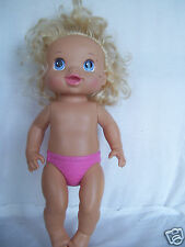 """2011 Hasbro Baby Doll Movable Hands and Legs 13"""" Tall"""