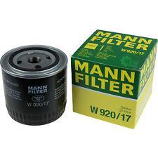 Original MANN-FILTER Ölfilter Oelfilter W 920/17 Oil Filter