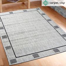 Tappeti nero tessitura piatta per la casa