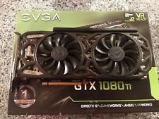 EVGA Geforce GTX 1080 Ti SC Black Edition 11GB Graphics Card | Fast Ship, Cle...