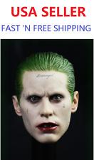 IN STOCK 1/6 SCALE Joker Head Sculpt Jared Leto Suicide Squad Batman