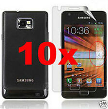 10x Screen Protector Guard Film for Samsung Galaxy S3 S3 II i9300 +Clean Cloth