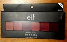 Elf Studio Runway Ready Lip Palette Compact with 6 Shades plum tones