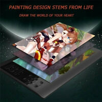 """Large Screen 10x6"""" Graphics Drawing Tablet USB Art Painting Board Quick Reading"""