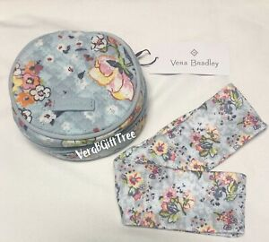 VERA BRADLEY Hair Accessories Kit FLOATING GARDEN Floral Set NWT Headband Pins