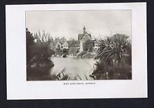 Main Bath House, Rotorua, New Zealand - 1913 Print