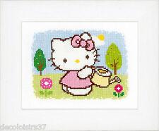 Vervaco  0148645  Hello Kitty  Le Printemps  Broderie  Point de Croix  Compté