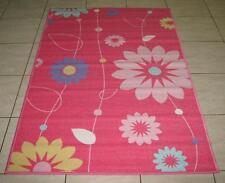 NEW SPRING PINK FLOWERS  KIDS PLAY MAT/Rug 100X150CM