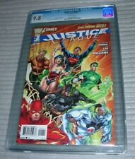 Justice League (2011) 1 CGC 9.8 NM/MT  DC New 52