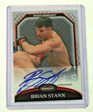 2011 Topps UFC Finest Fighters Autograph Brian Stann WEC Auto