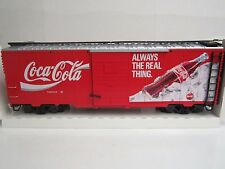 Lgb G #42911 Coca-Cola Billboard Box Car