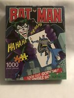 "Aquarius Batman The Joker 1000 Piece Jigsaw Puzzle NEW 20"" x 27"""