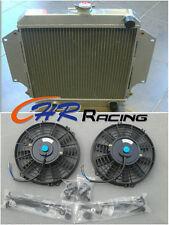 FOR SUZUKI SIERRA 2Dr SPFTOP/HARDTOP SJ410/413 7/81-3/96 Aluminum Radiator & FAN