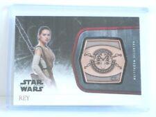 Topps Star Wars Rey The Force Awaken Bronze Galactic Medallion **Very Nice**